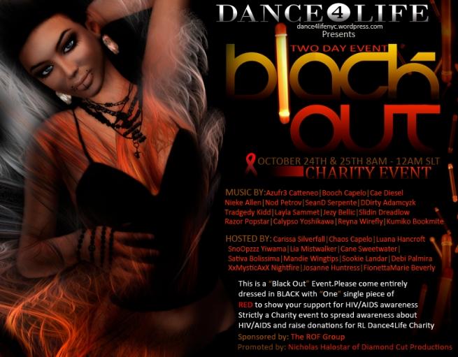 Dance❹Life  BlackoutCharity Event